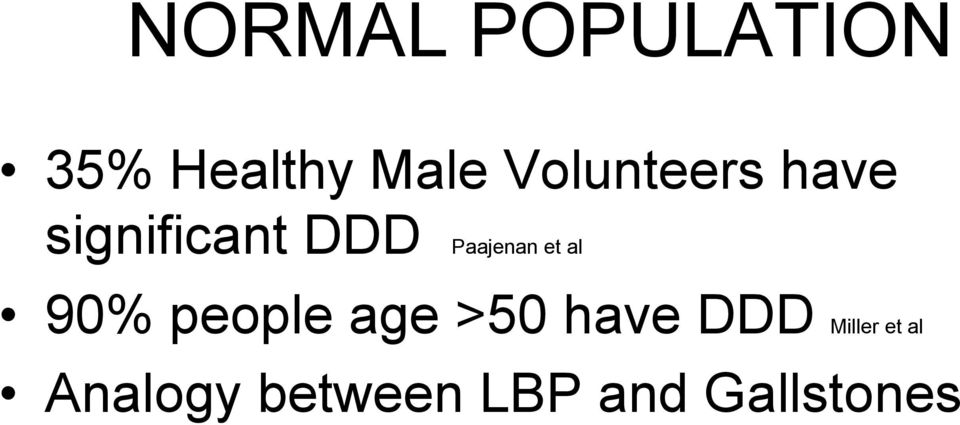 Paajenan et al 90% people age >50 have