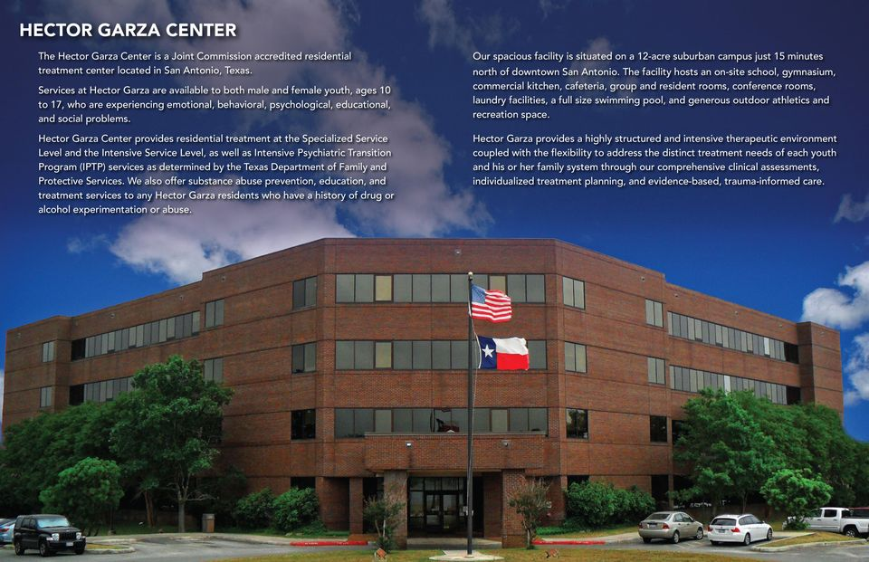 Hector Garza Center The Hector Garza Center Is A Joint Commission