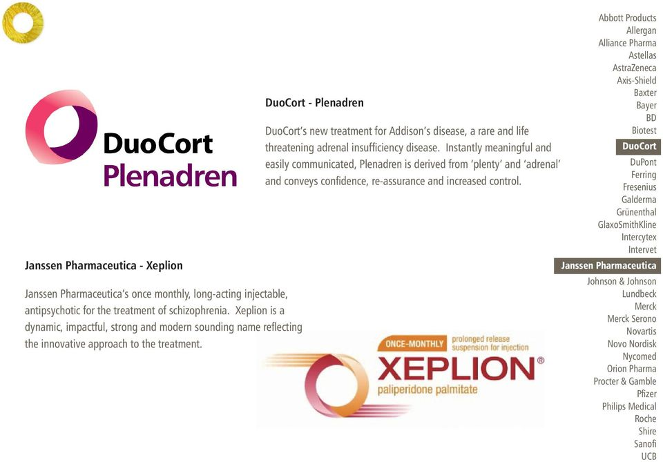 DuoCort - Plenadren DuoCort s new treatment for Addison s disease, a rare and life threatening adrenal insufficiency disease.