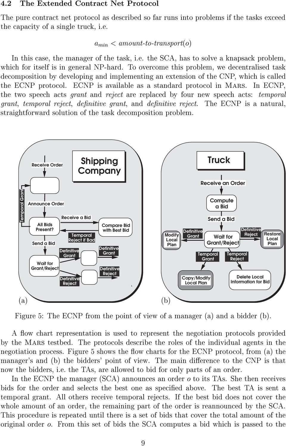 To overcome this problem, we decentralised task decomposition by developing and implementing an extension of the CNP, which iscalled the ECNP protocol.