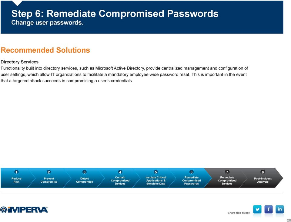 centralized management and configuration of user settings, which allow IT organizations to facilitate a mandatory employee-wide password