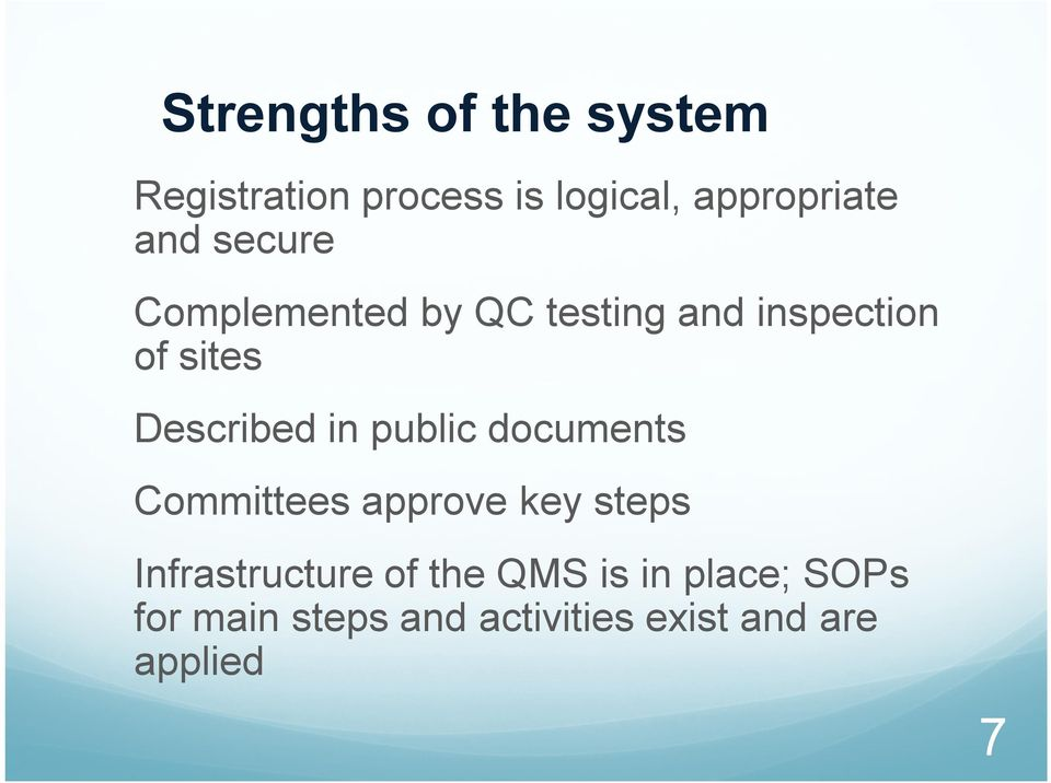 in public documents Committees approve key steps Infrastructure of the