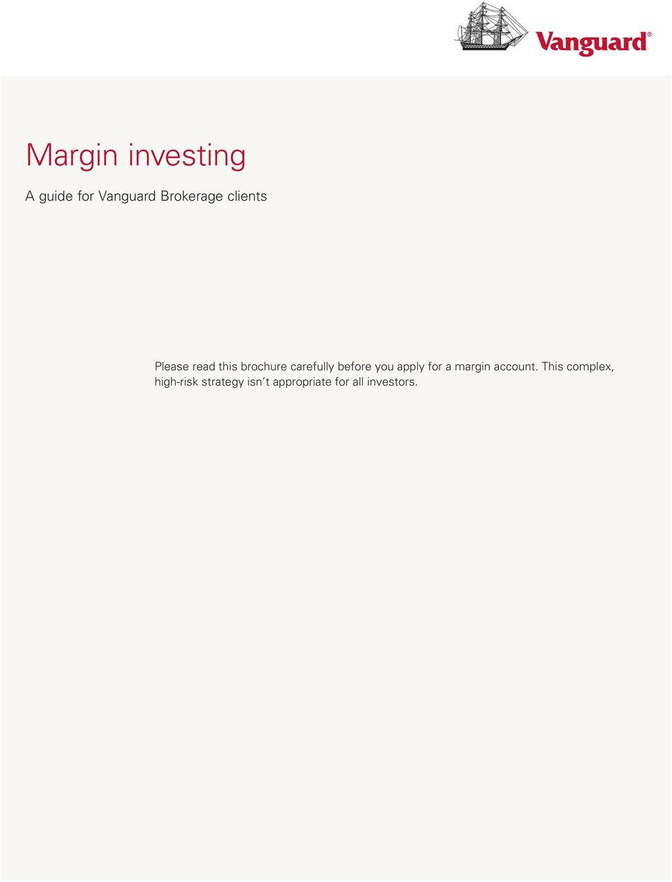 margin account.