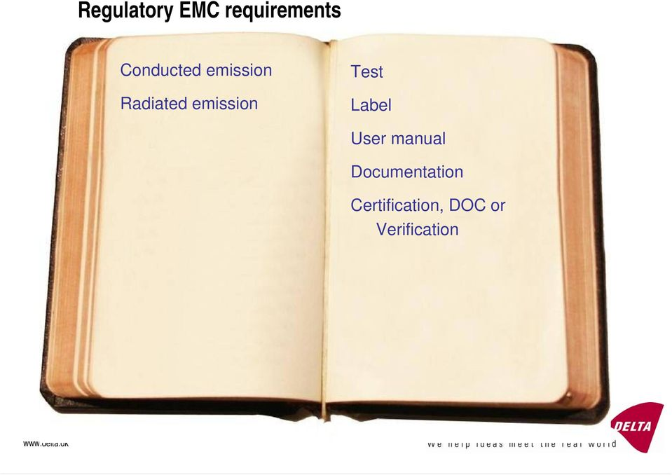 emission Test Label User manual