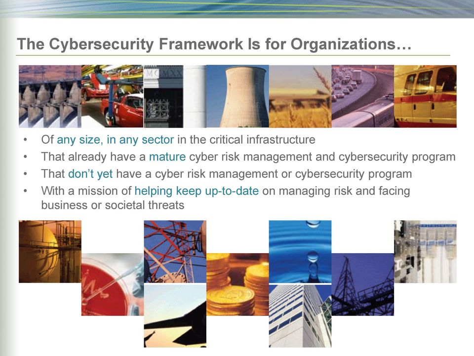 cybersecurity program That don t yet have a cyber risk management or cybersecurity