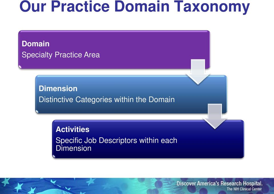 Distinctive Categories within the Domain