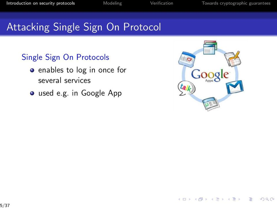 Single Sign On Protocol Single Sign On Protocols