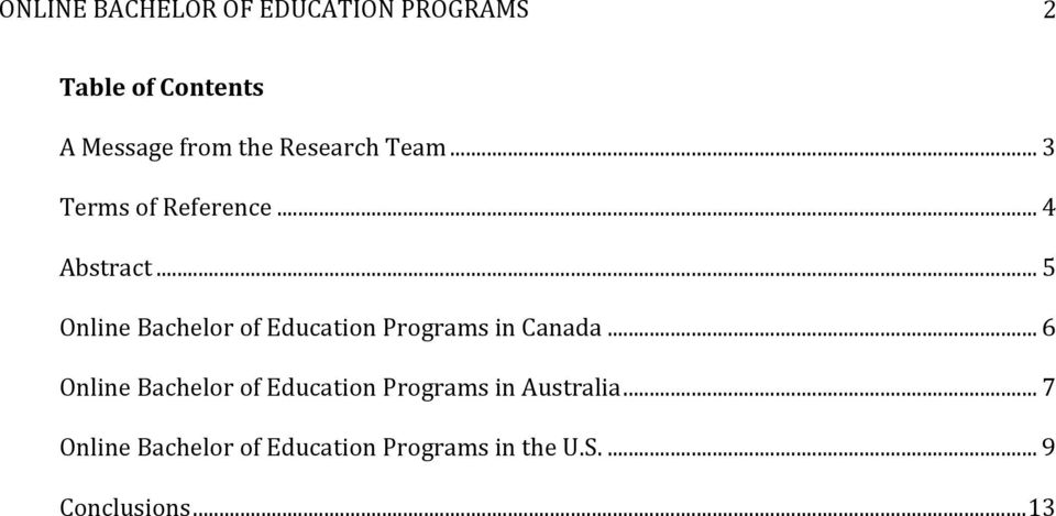 .. 5 Online Bachelor of Education Programs in Canada.