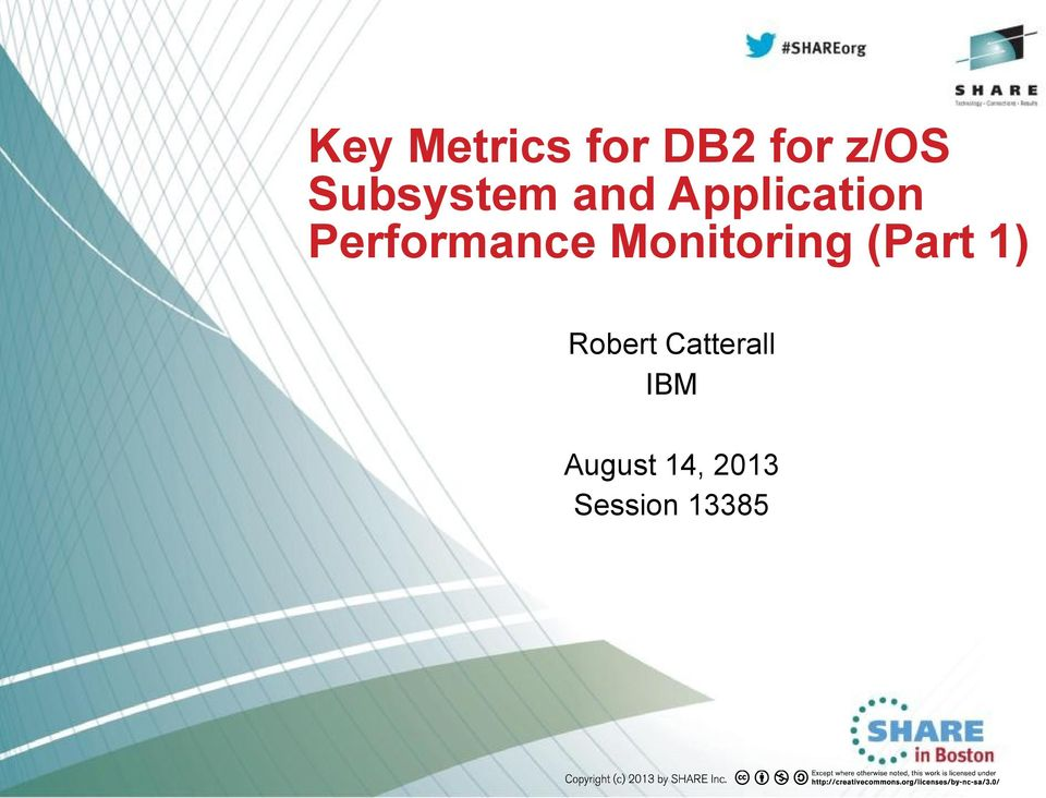 Performance Monitoring (Part 1)
