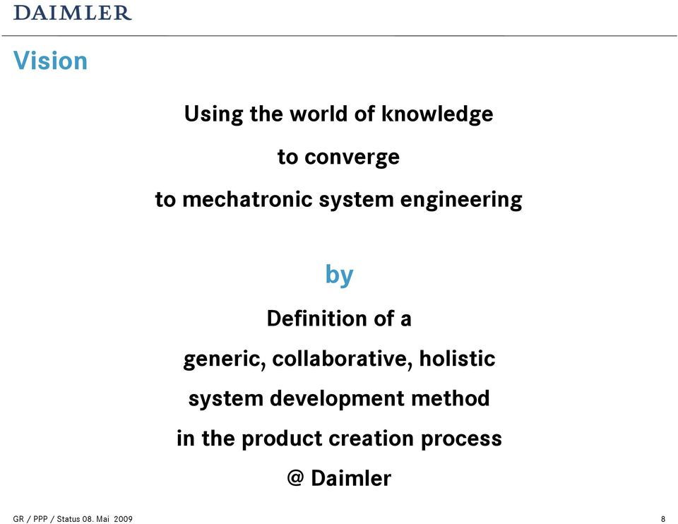 to mechatronic system engineering by Definition of a