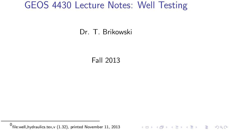 Brikowski Fall 2013 0 file:well