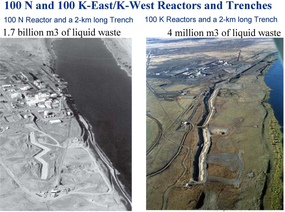 100 K Reactors and a 2-km long Trench 1.