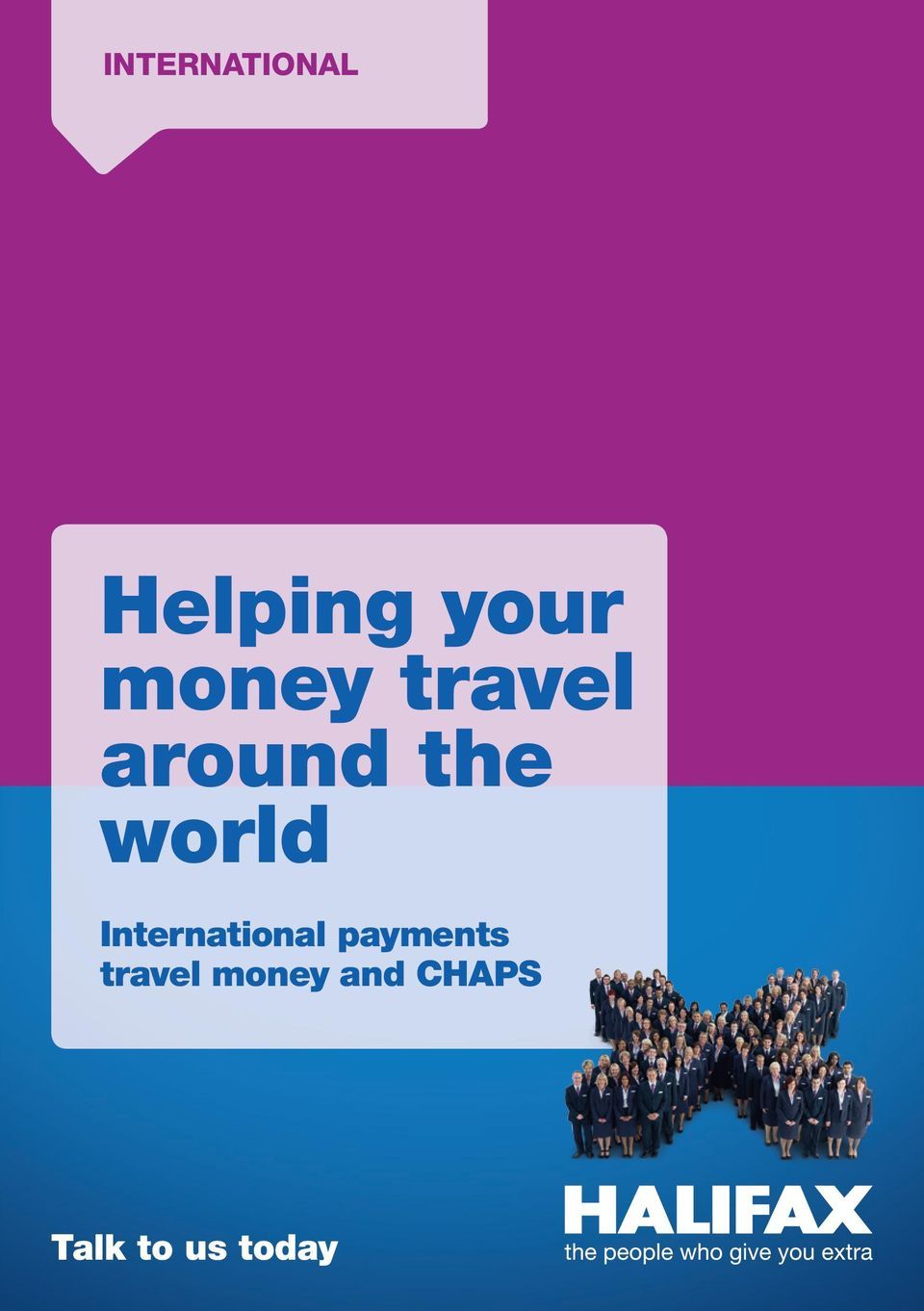 International payments travel