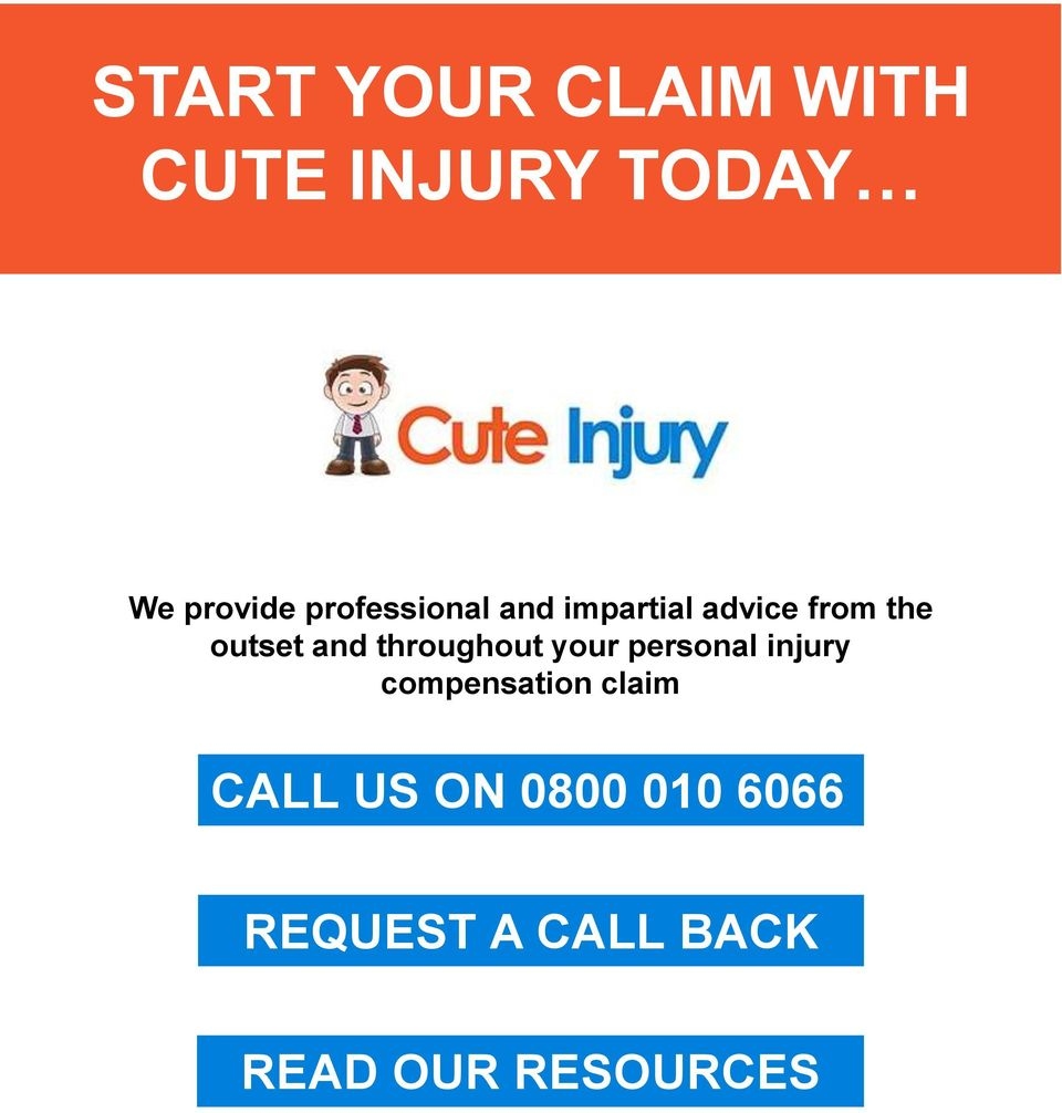 throughout your personal injury compensation claim