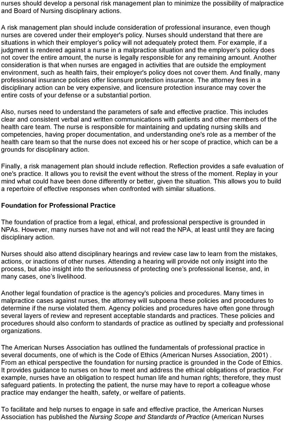apply legal and ethical parameters to nursing practice essay Description seeattachedworddocforinstructions w6a2 assignment purpose: to discuss an ethical issue related to healthcare and apply.