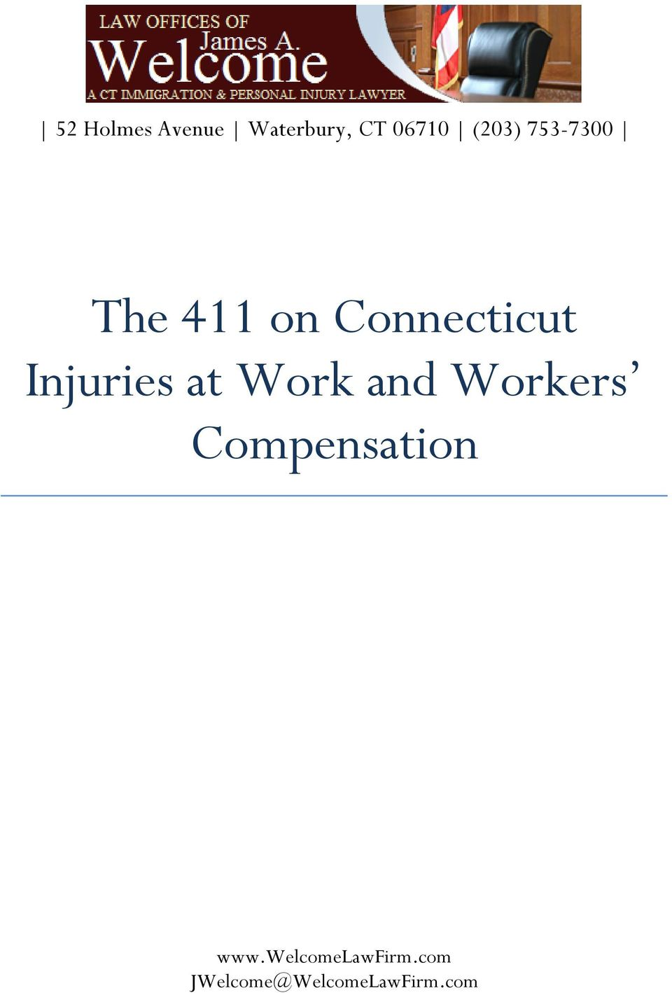 Injuries at Work and Workers Compensation
