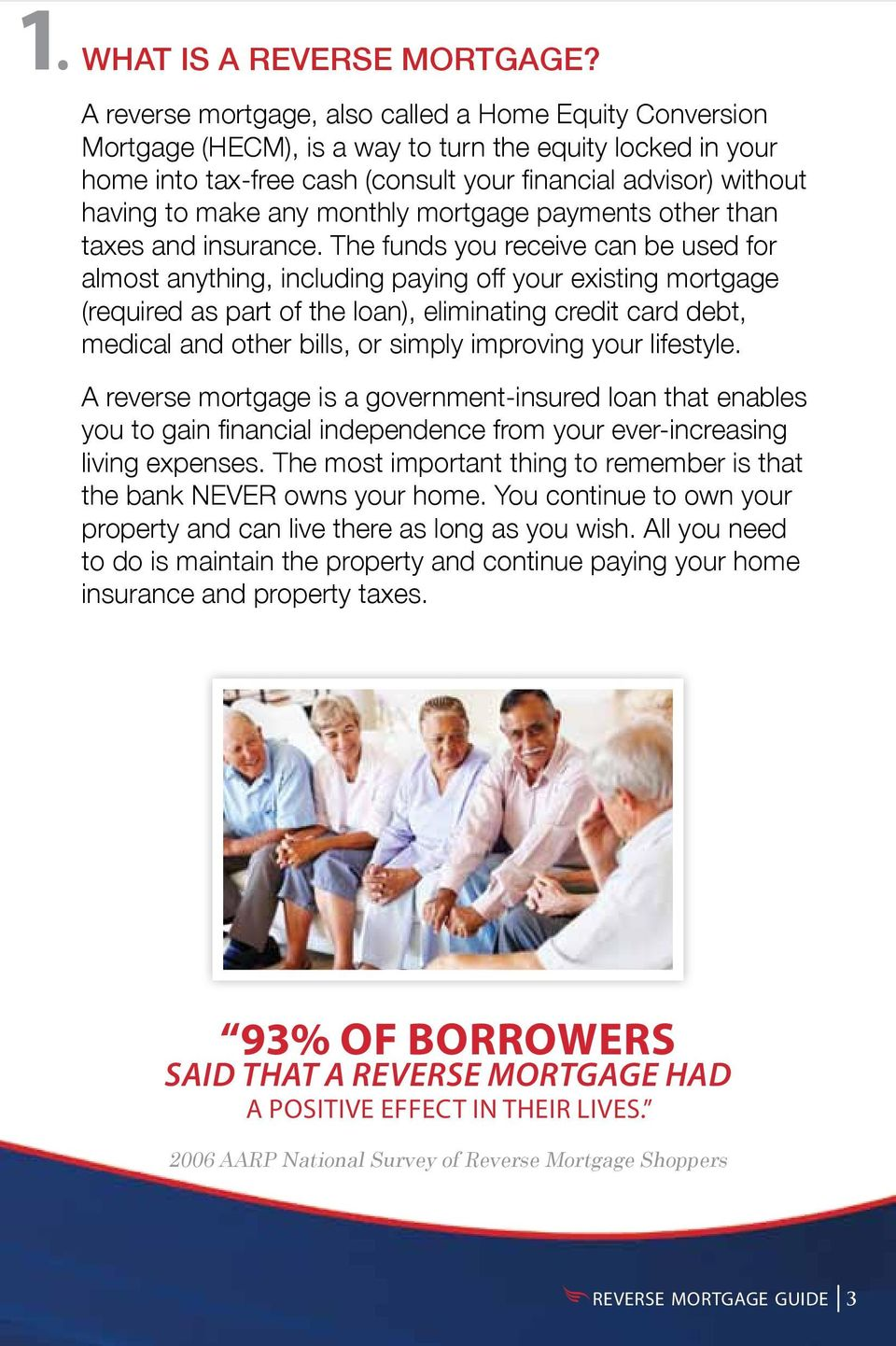 any monthly mortgage payments other than taxes and insurance.