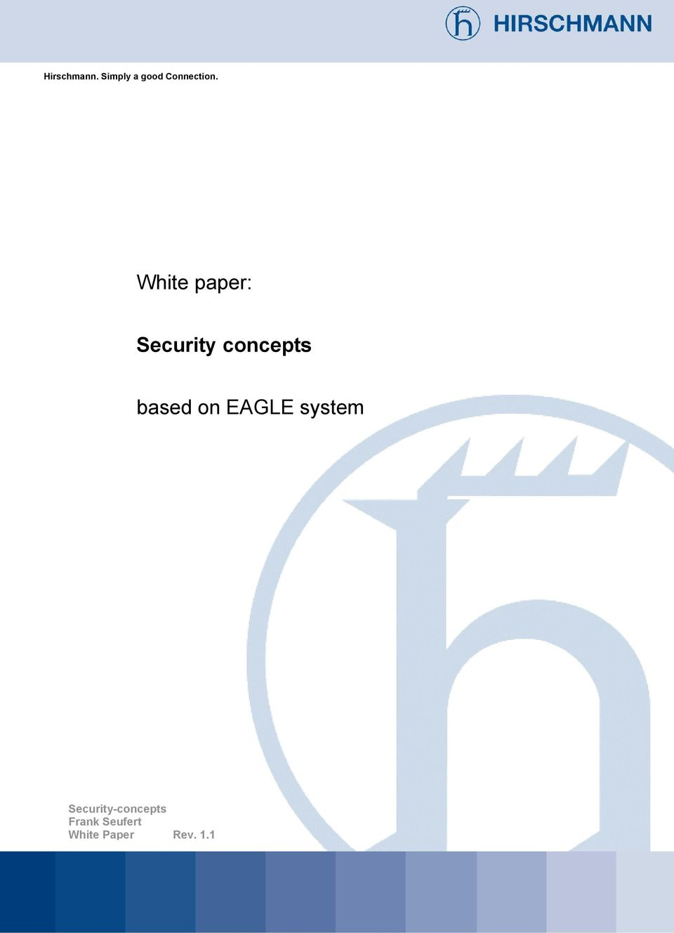 White paper: Security concepts