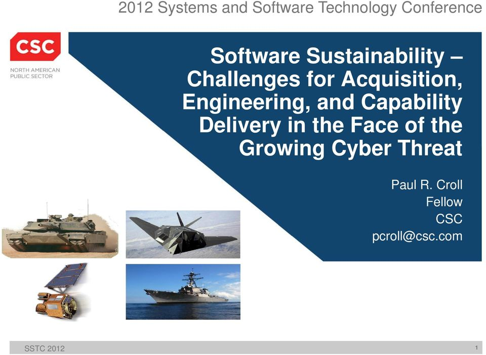 and Capability Delivery in the Face of the Growing Cyber