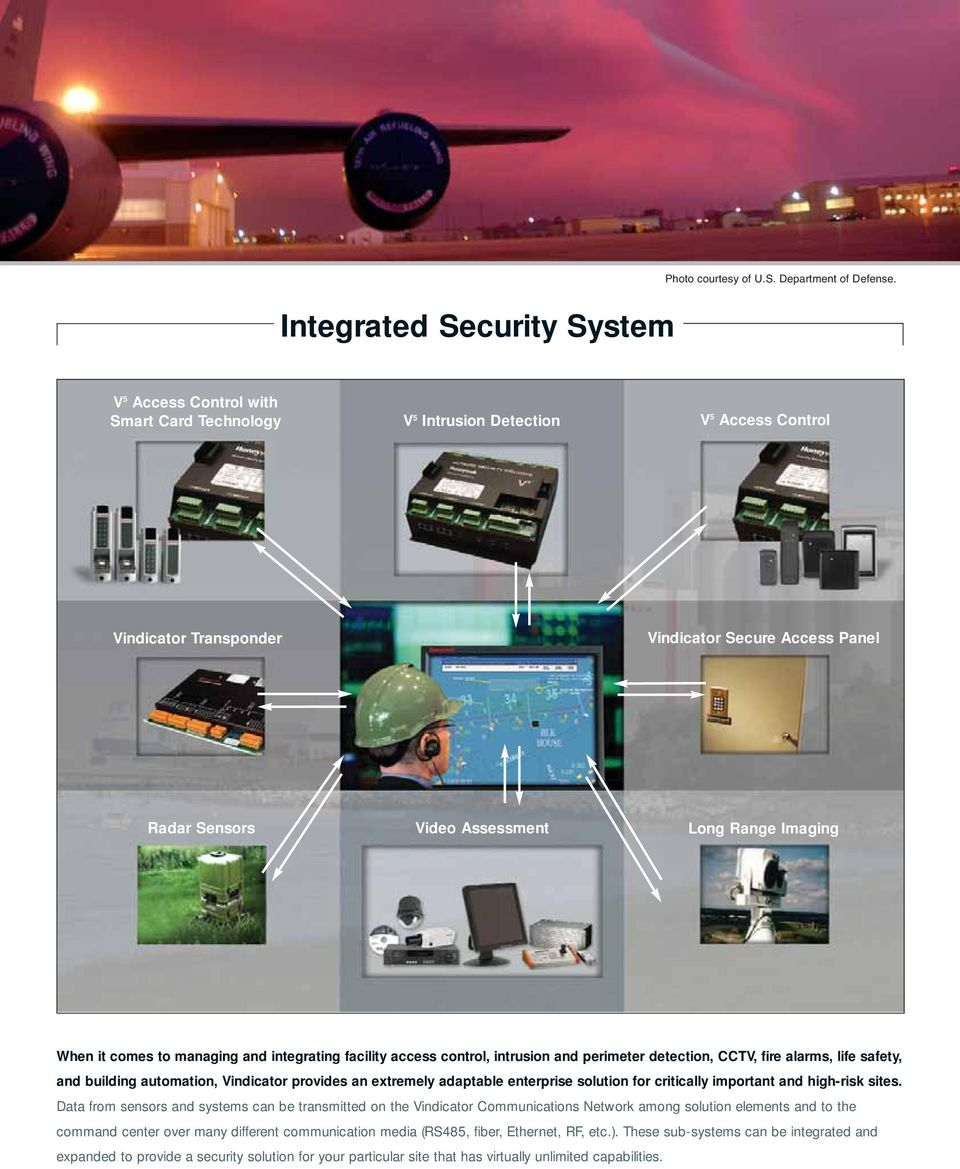 it comes to managing and integrating facility access control, intrusion and perimeter detection, CCTV, fire alarms, life safety, and building automation, Vindicator provides an extremely adaptable