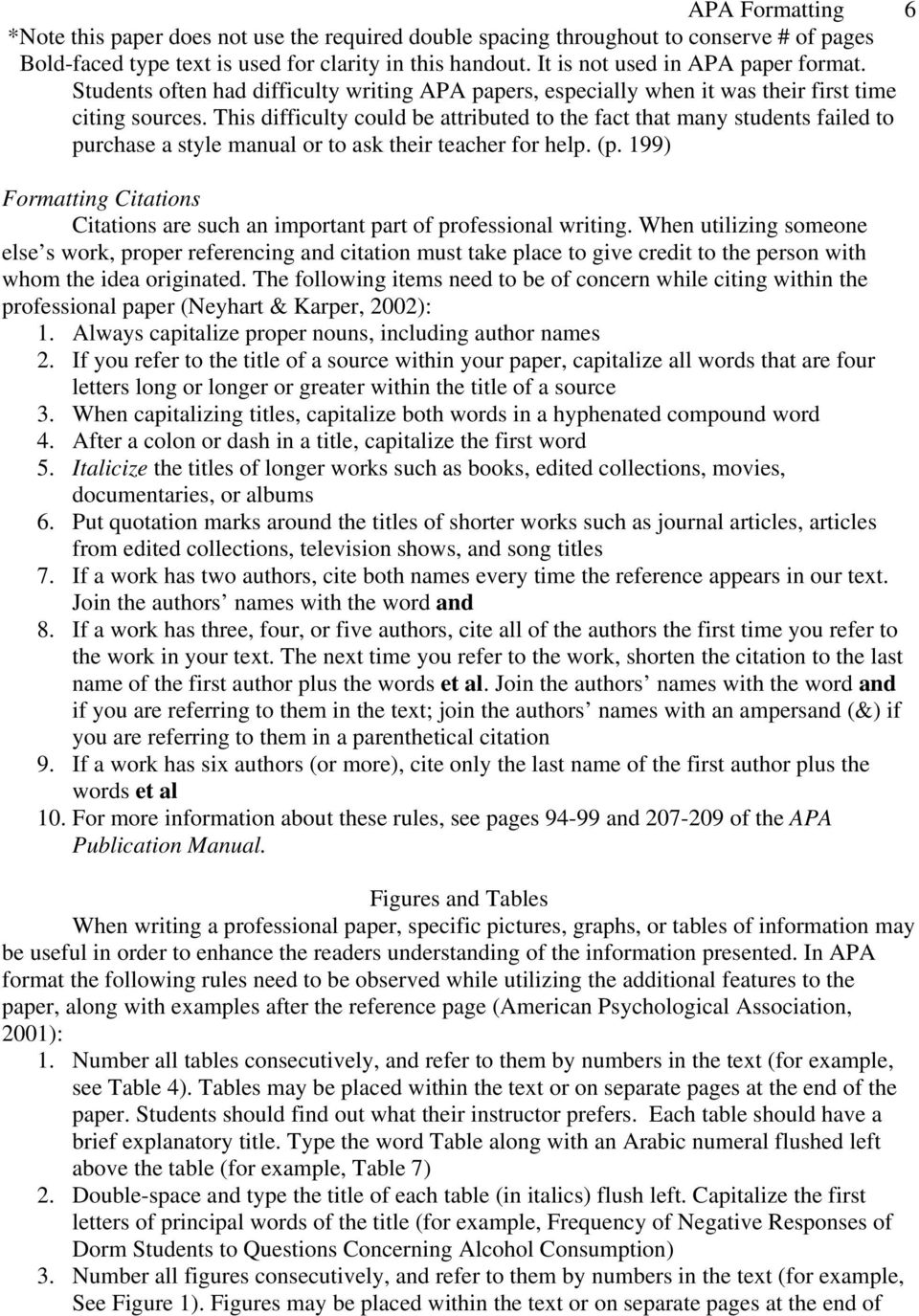 199) Formatting Citations Citations are such an important part of professional writing.