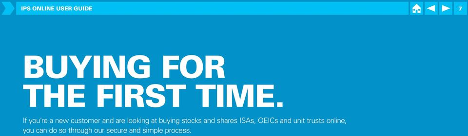 buying stocks and shares ISAs, OEICs and unit trusts