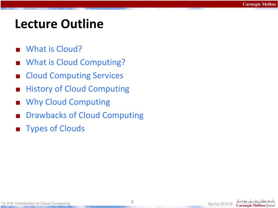 Cloud Computing Services History of Cloud