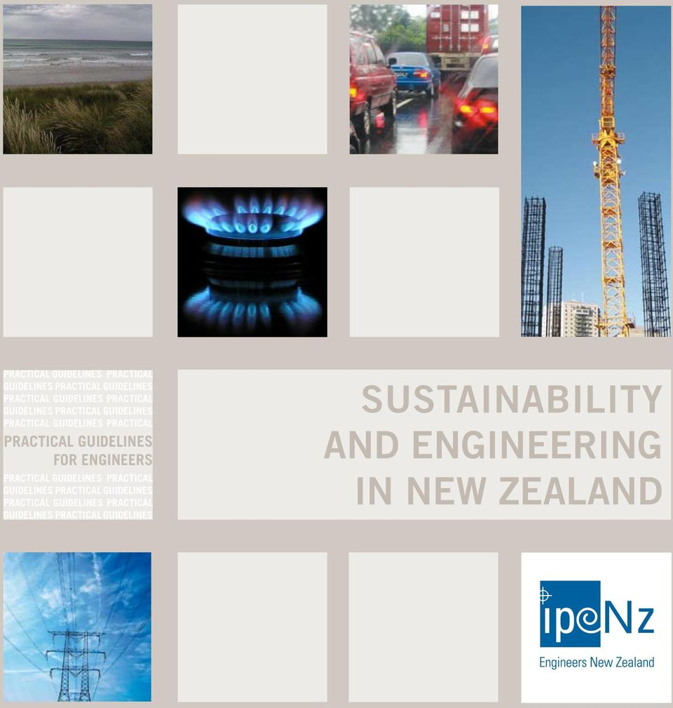 GUIDELINES FOR ENGINEERS  PRACTICAL GUIDELINES PRACTICAL GUIDELINES SUSTAINABILITY AND