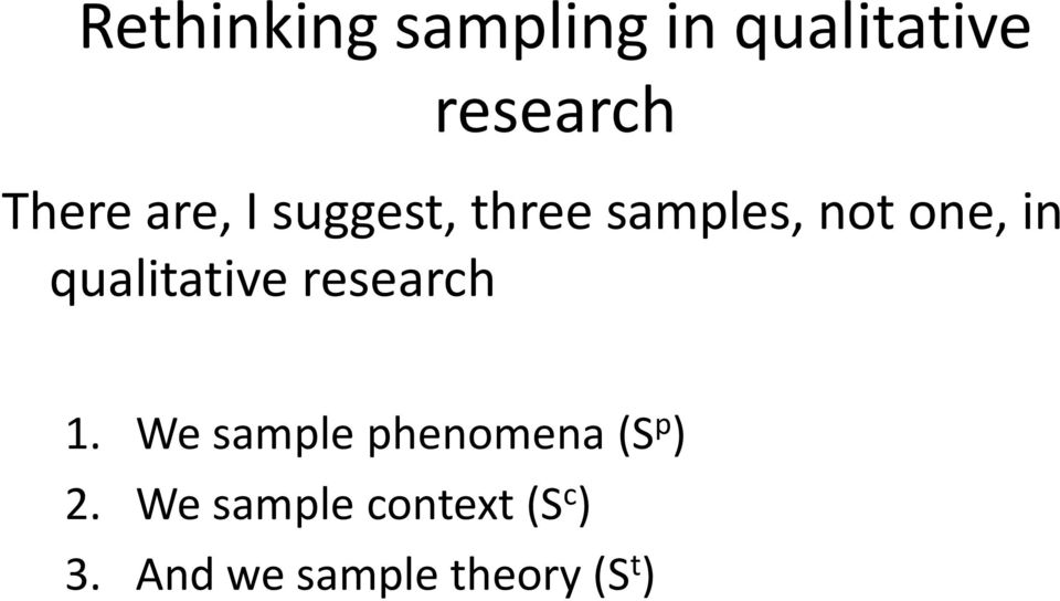 qualitative research 1.