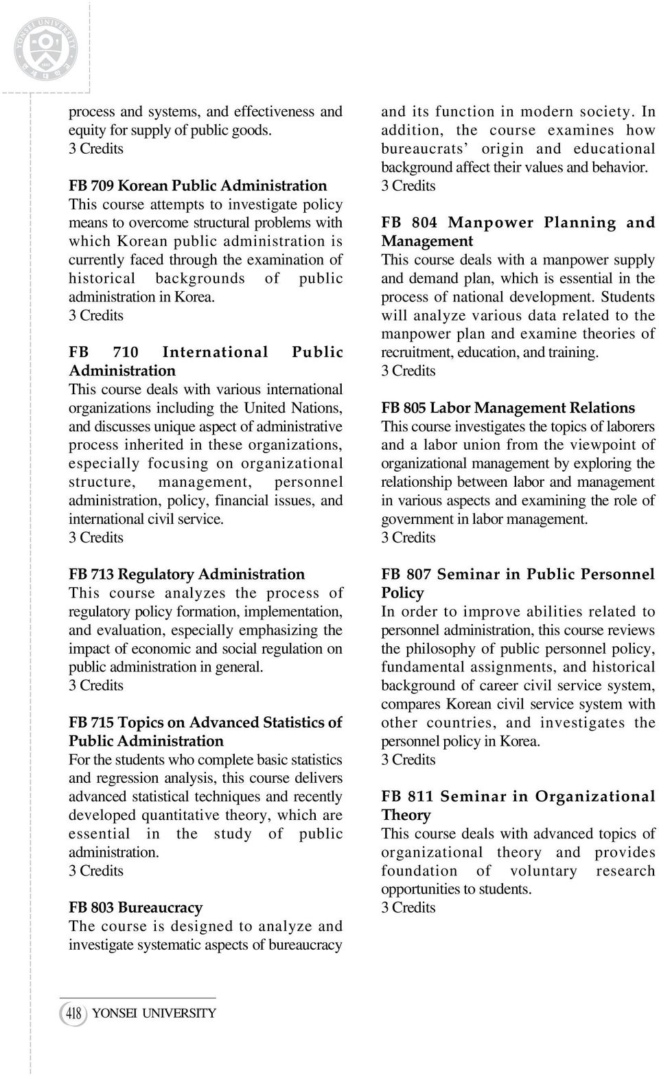 backgrounds of public administration in Korea.