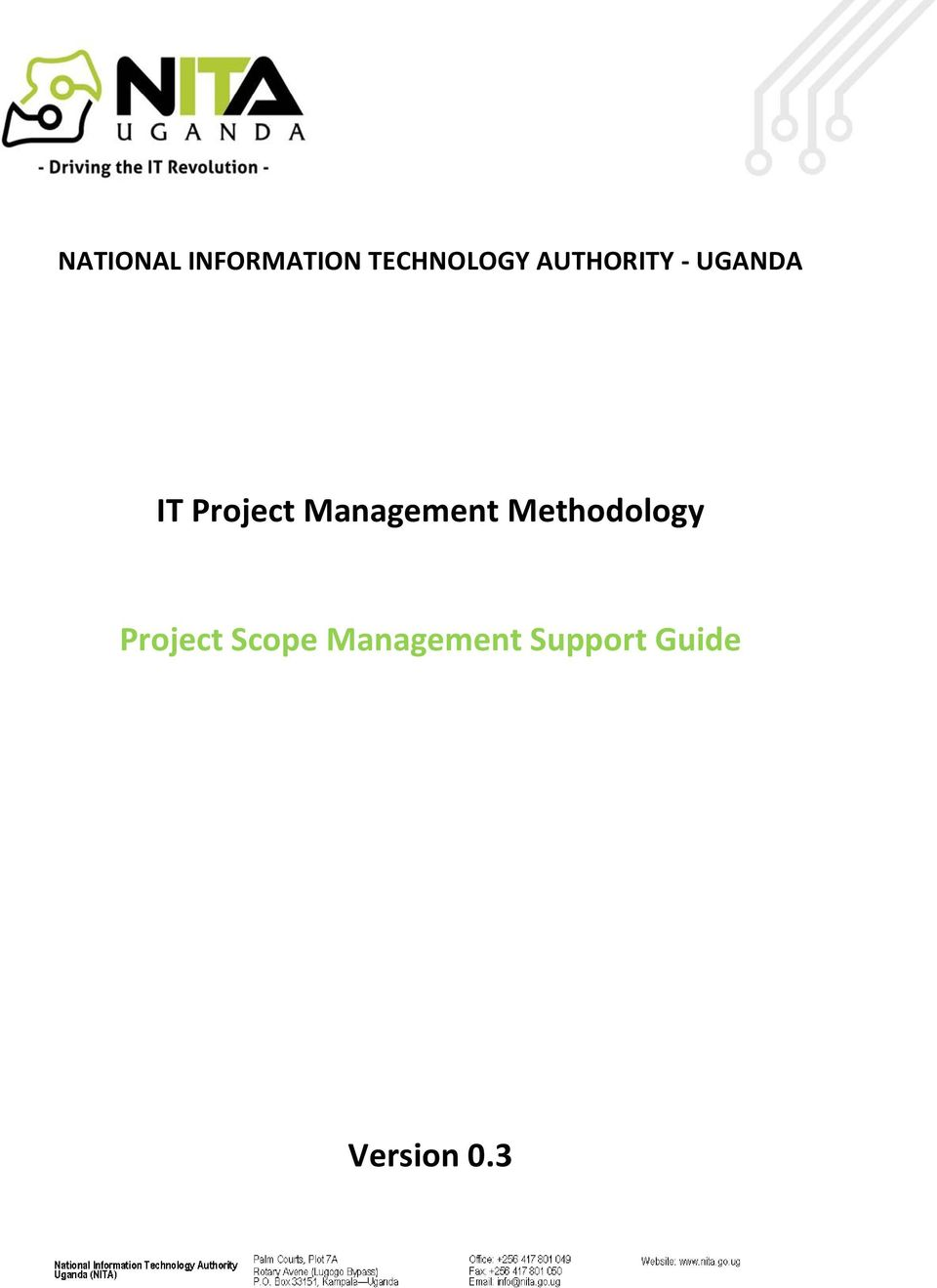 Management Methodology Project