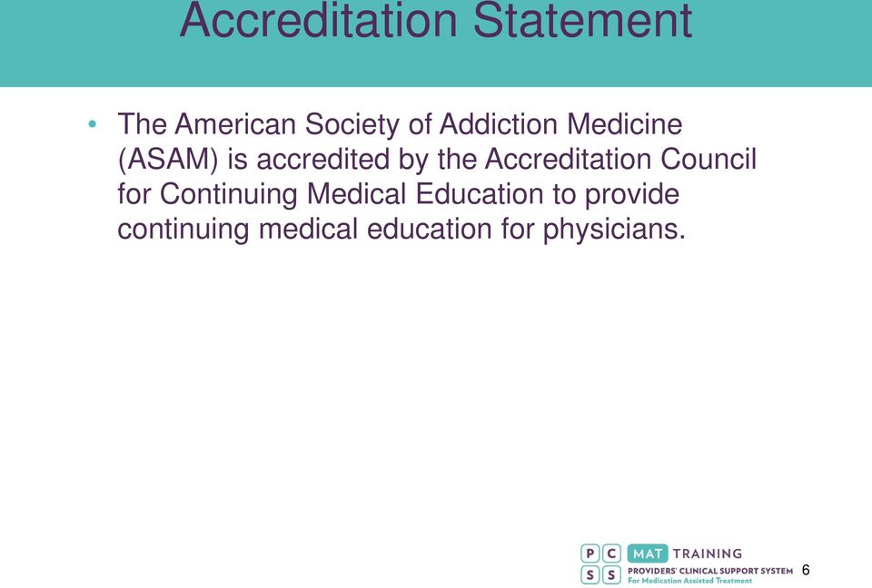 Accreditation Council for Continuing Medical