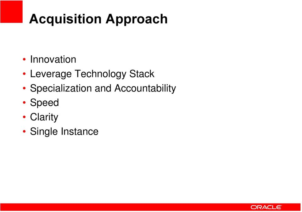 Stack Specialization and