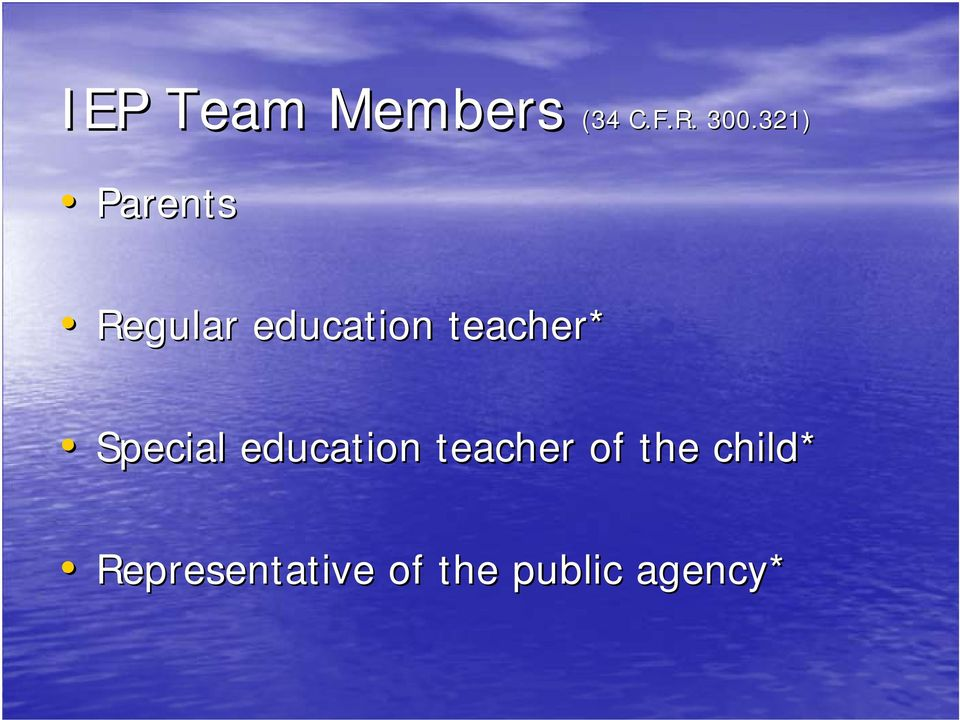 teacher* Special education teacher