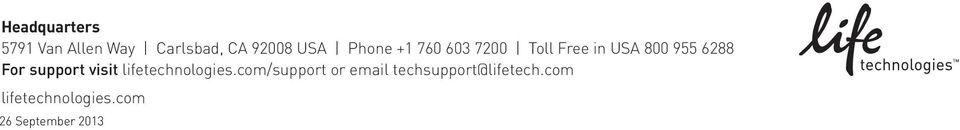 support visit lifetechnologies.