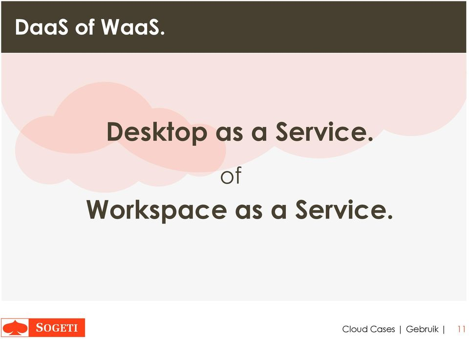 of Workspace as a