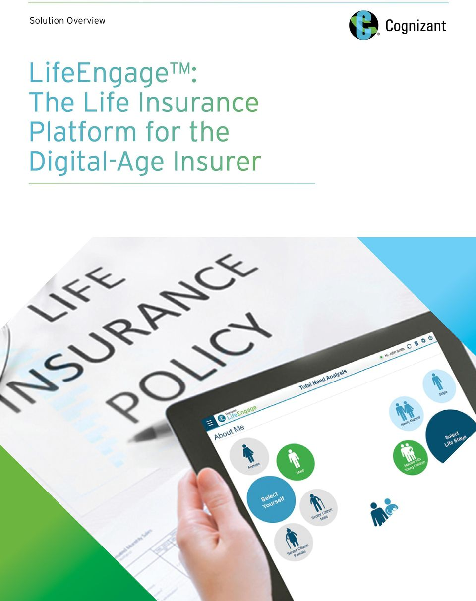 Life Insurance Platform for the
