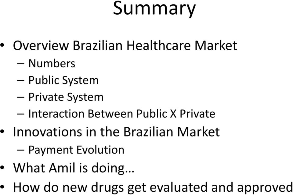 Private Innovations in the Brazilian Market Payment