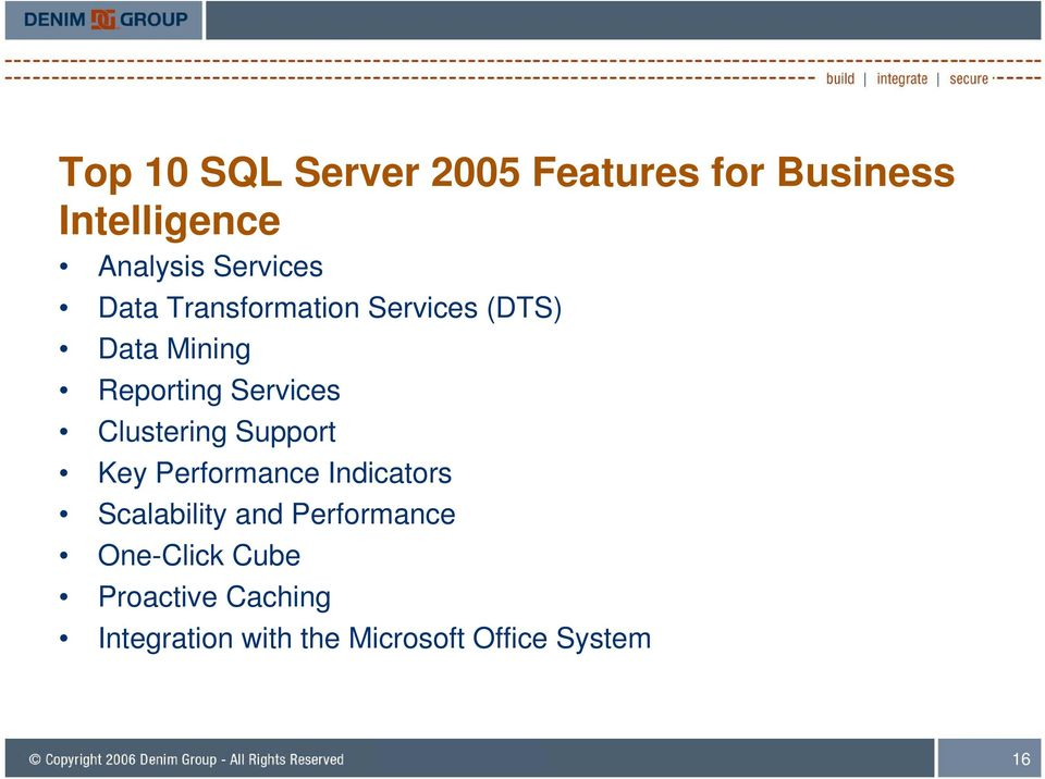 Services Clustering Support Key Performance Indicators Scalability and