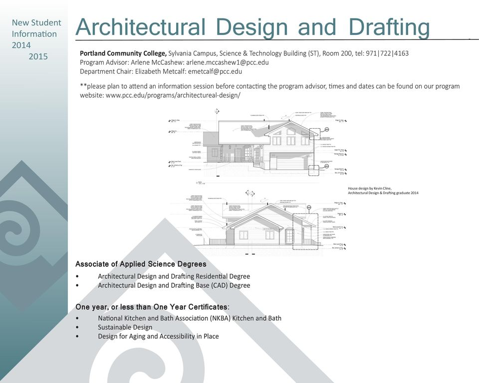 edu **please plan to attend an information session before contacting the program advisor, times and dates can be found on our program website: www.pcc.