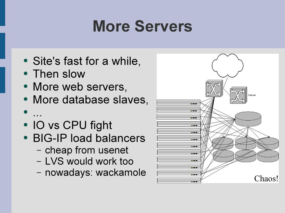 .. IO vs CPU fight BIG-IP load balancers cheap