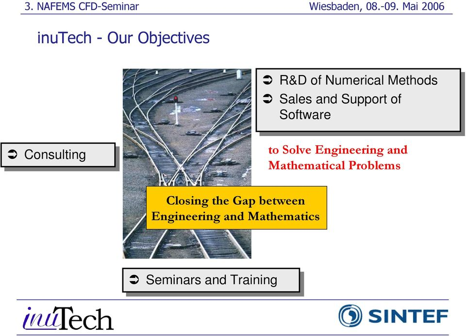 Engineering and Mathematical Problems Closing the Gap