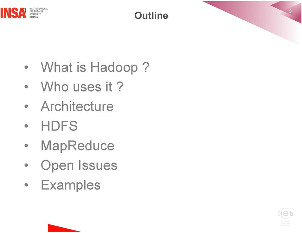Architecture HDFS