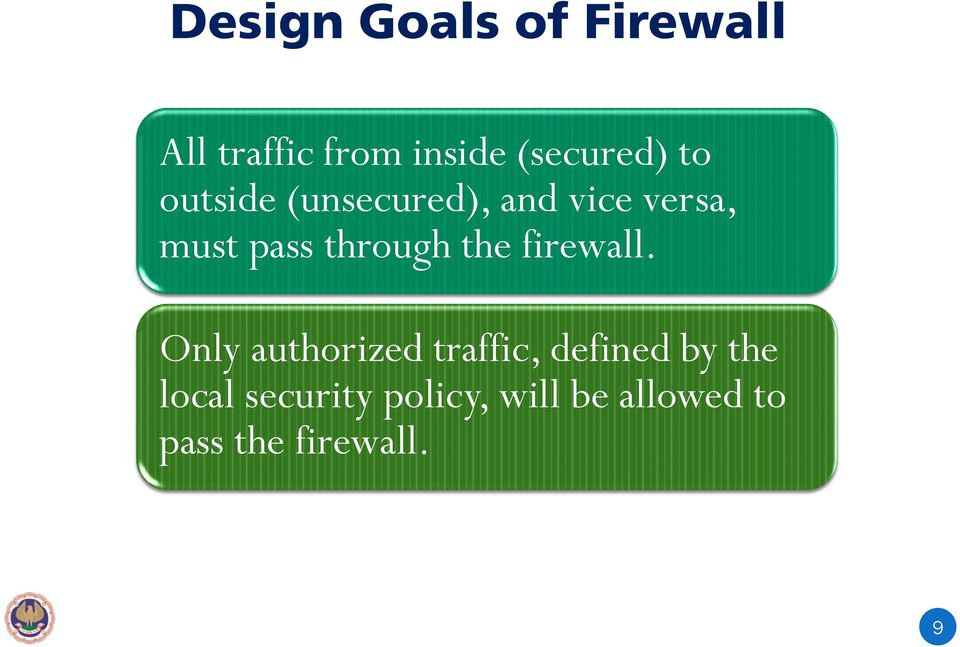 the firewall.
