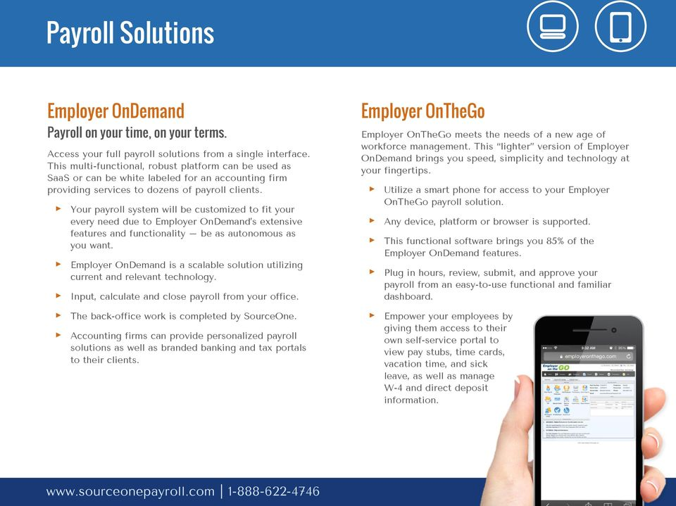 Powerful payroll and HR solutions, delivered with a personal