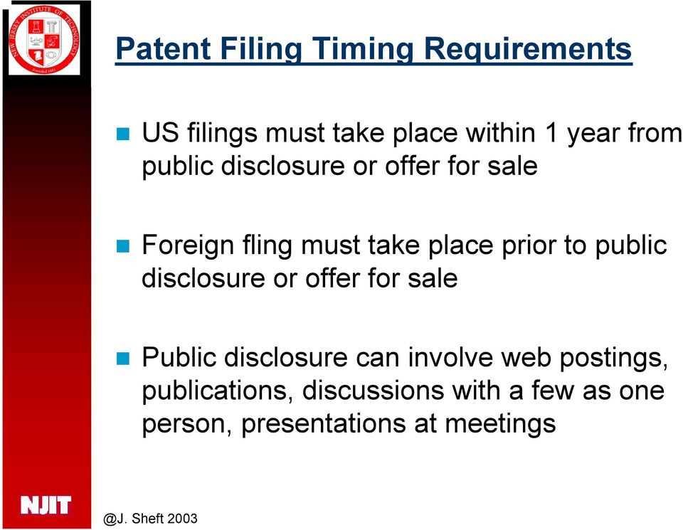 to public disclosure or offer for sale Public disclosure can involve web