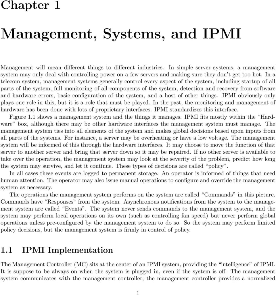 Ipmi A Gentle Introduction With Openipmi Pdf Free Download