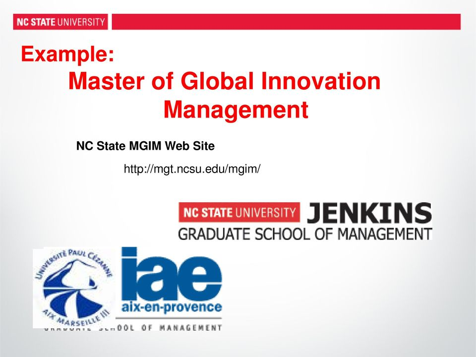 Management NC State