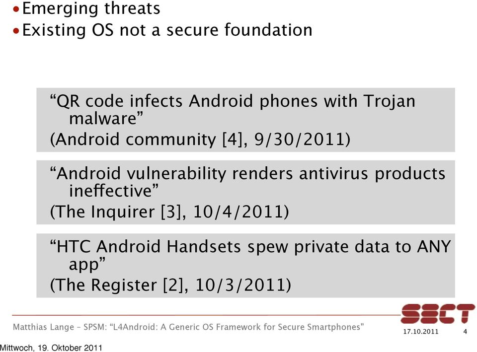 vulnerability renders antivirus products ineffective (The Inquirer [3],