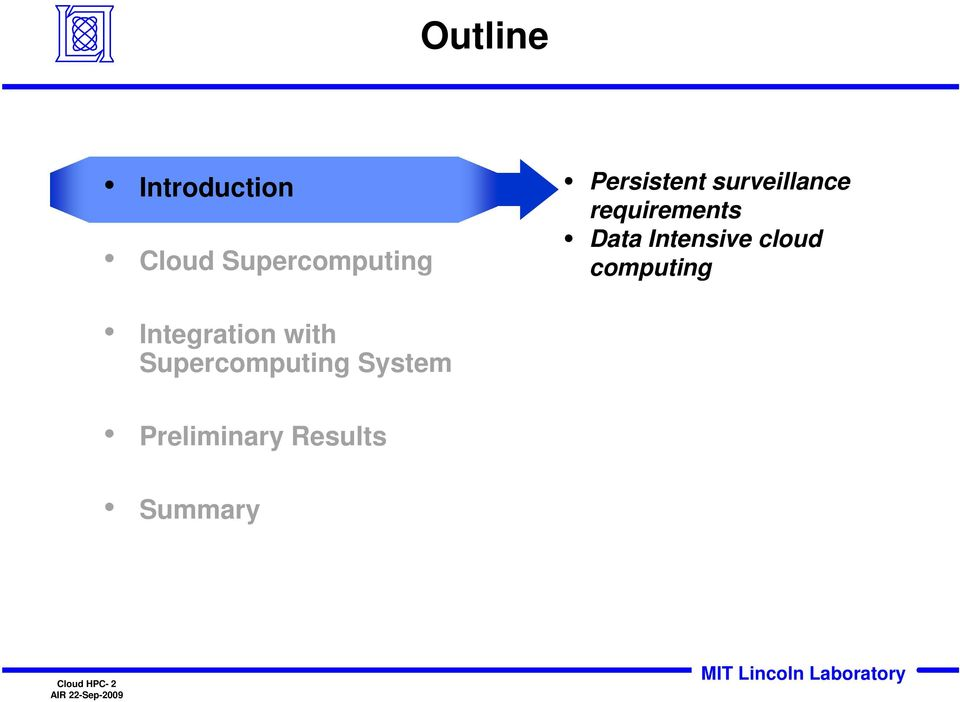 Intensive cloud computing Integration with